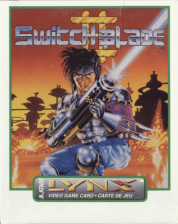 Switchblade II Atari Lynx cover artwork