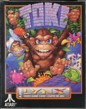 Toki Atari Lynx cover artwork
