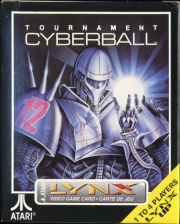 Tournament Cyberball Atari Lynx cover artwork