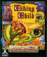 Viking Child Atari Lynx cover artwork
