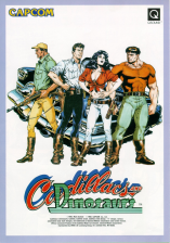 Cadillacs and Dinosaurs Capcom CPS 1 cover artwork