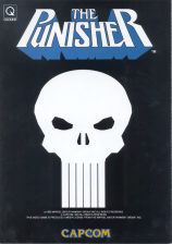 Punisher, The Capcom CPS 1 cover artwork