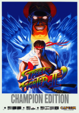 Street Fighter II': Champion Edition Capcom CPS 1 cover artwork