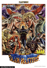 Saturday Night Slam Masters Capcom CPS 1 cover artwork