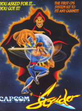 Strider Capcom CPS 1 cover artwork