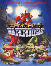 Armored Warriors Capcom CPS 2 cover artwork