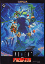 Aliens vs. Predator Capcom CPS 2 cover artwork