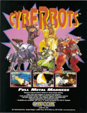 Cyberbots : Fullmetal Madness Capcom CPS 2 cover artwork
