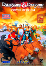 Dungeons & Dragons: Tower of Doom Capcom CPS 2 cover artwork