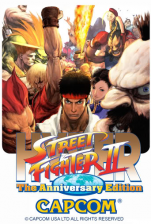 Hyper Street Fighter 2 : The Anniversary Edition Capcom CPS 2 cover artwork