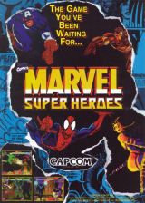 Marvel Super Heroes Capcom CPS 2 cover artwork