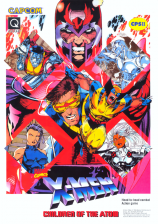 X-Men : Children of the Atom Capcom CPS 2 cover artwork