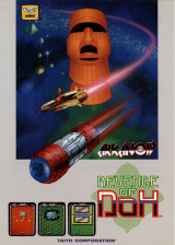Arkanoid 2 - Revenge of DOH Coin Op Arcade cover artwork