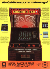 Armored Car Coin Op Arcade cover artwork