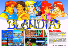 Blandia Coin Op Arcade cover artwork