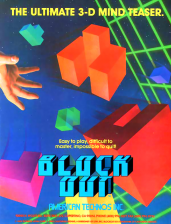Block Out Coin Op Arcade cover artwork