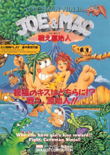Caveman Ninja : Joe & Mac Coin Op Arcade cover artwork