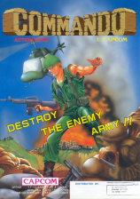 Commando Coin Op Arcade cover artwork