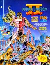 Double Dragon 2 : The Revenge Coin Op Arcade cover artwork