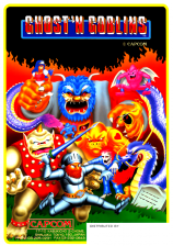 Ghosts'n Goblins Coin Op Arcade cover artwork