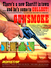 Gun.Smoke Coin Op Arcade cover artwork