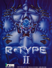 R-Type II Coin Op Arcade cover artwork