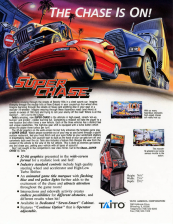 Super Chase - Criminal Termination Coin Op Arcade cover artwork