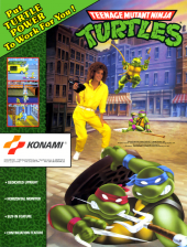 Teenage Mutant Ninja Turtles Coin Op Arcade cover artwork