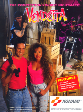 Vendetta Coin Op Arcade cover artwork