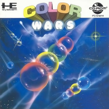 Color Wars NEC PC Engine CD cover artwork