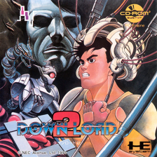 Download II NEC PC Engine CD cover artwork