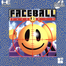 Faceball NEC PC Engine CD cover artwork