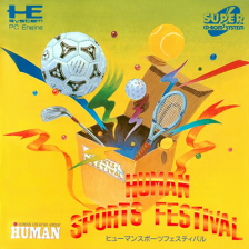 Human Sports Festival NEC PC Engine CD cover artwork