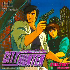 City Hunter NEC PC Engine cover artwork