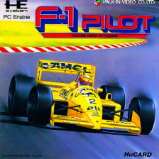 F-1 Pilot - You're King of Kings NEC PC Engine cover artwork