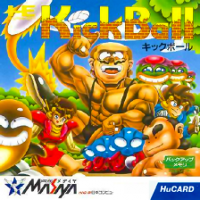 KickBall NEC PC Engine cover artwork