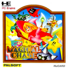 Magical Chase NEC PC Engine cover artwork