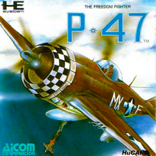 P-47 - The Freedom Fighter NEC PC Engine cover artwork