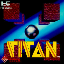 Titan NEC PC Engine cover artwork