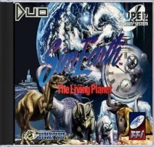 Sim Earth - The Living Planet NEC TurboGrafx 16 CD cover artwork