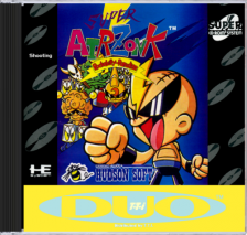 Super Air Zonk NEC TurboGrafx 16 CD cover artwork