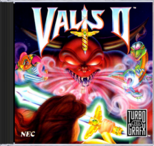 Valis II NEC TurboGrafx 16 CD cover artwork