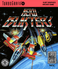 Aero Blasters NEC TurboGrafx 16 cover artwork