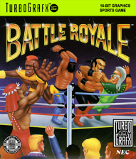 Battle Royale NEC TurboGrafx 16 cover artwork