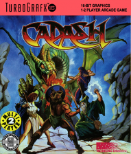 Cadash NEC TurboGrafx 16 cover artwork