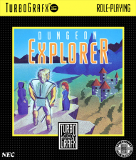 Dungeon Explorer NEC TurboGrafx 16 cover artwork
