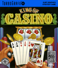 King of Casino NEC TurboGrafx 16 cover artwork