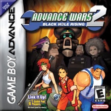 Advance Wars 2 - Black Hole Rising Nintendo Game Boy Advance cover artwork