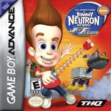 Adventures of Jimmy Neutron Boy Genius, The - Jet Fusion Nintendo Game Boy Advance cover artwork