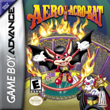 Aero the Acro-Bat - Rascal Rival Revenge Nintendo Game Boy Advance cover artwork